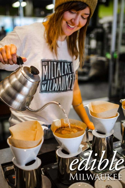 Pour Over Coffee at Valentine Coffee Company